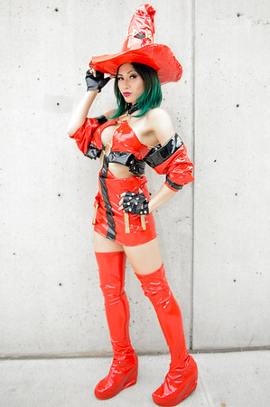 NYCC 2015 - Friday - Miss KatsReckless - Guilty Gear I-NO