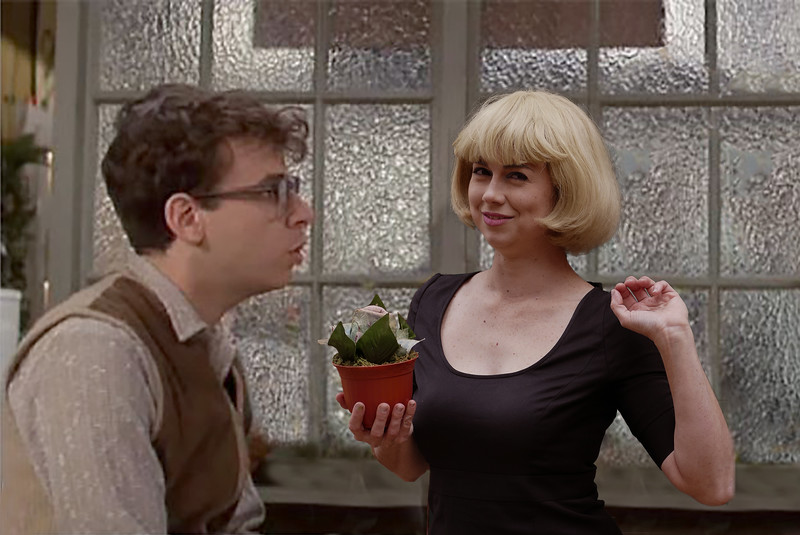 Celeste Oregame as Audrey from Little Shop of Horrors