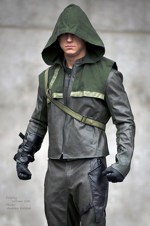 Arrow Cosplay By William Cote