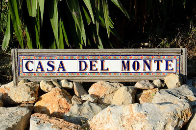 Casa Del Monte The villa we hired in the Jalon valley was called Casa Del Monte.