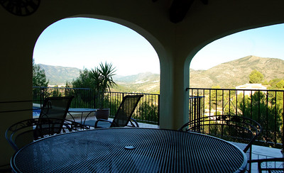 Breakfast View This is the view we experienced every morning with breakfast.