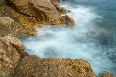 La huella del mar.