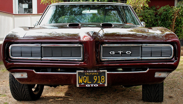 FAST CAR, 1968 GTO