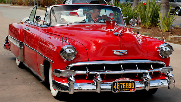 ARRIVING LATE, 1953 CHEVY