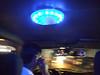 UFO lights in a San Jose cab!
