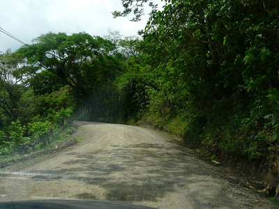 Now off to Monteverde. No pavement from now on. This is our first time to Monteverde. On a Quetzal hunt......I hope!