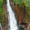 Catarata del Toro, swollen by rain, plunges into a huge pool, Central Highlands.