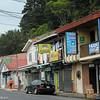 A street scene in Zarcero, Costa Rica.