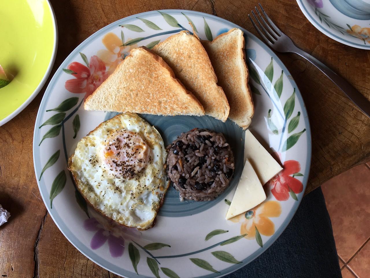 First Breakfast in Monteverde