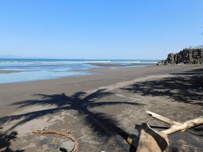 Dona Ana beach in Puntarenas.