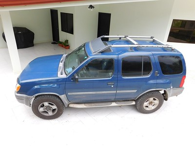 Dad's house in Costa Rica. The Nissan Xterra is perfect for getting around in the mountains.