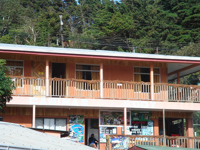 stay here if you are near monteverde.  Cabinas Eddie is only 5 bucks a night and is very very clean.
