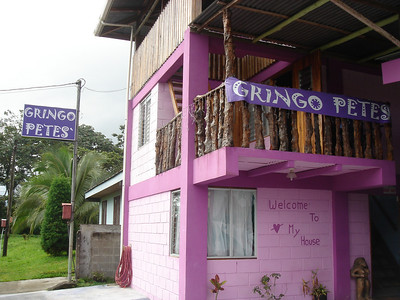 where we stayed in Arenal.  Pete is a perv.