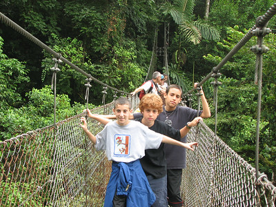 121 - Hanging bridges, Guy, Ayal & Yonatan