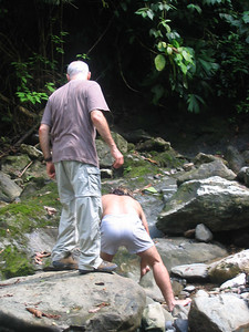 200 - Horseback riding, the waterfall