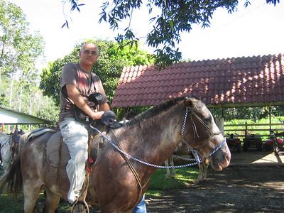 178 - Horseback riding, Yair on Platiado (Silver)