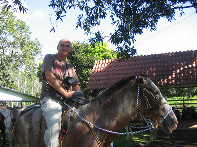 177 - Horseback riding, Yair on Platiado (Silver)