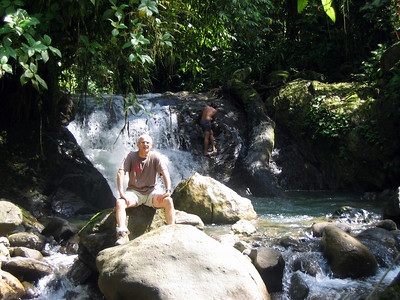 201 1 - Horseback riding, the waterfall