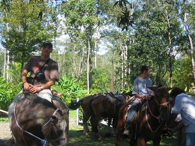 176 - Horseback riding, Yair on Platiado (Silver)