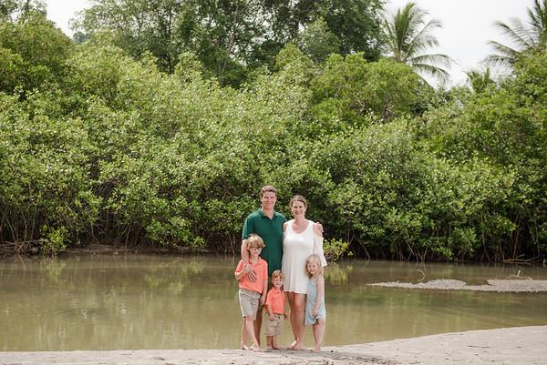 Costa Rica Family photos summer 2018