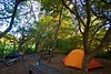 My campsite in Santa Maria National Park. A cloud forest.