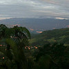 Turrialba valley at dawn