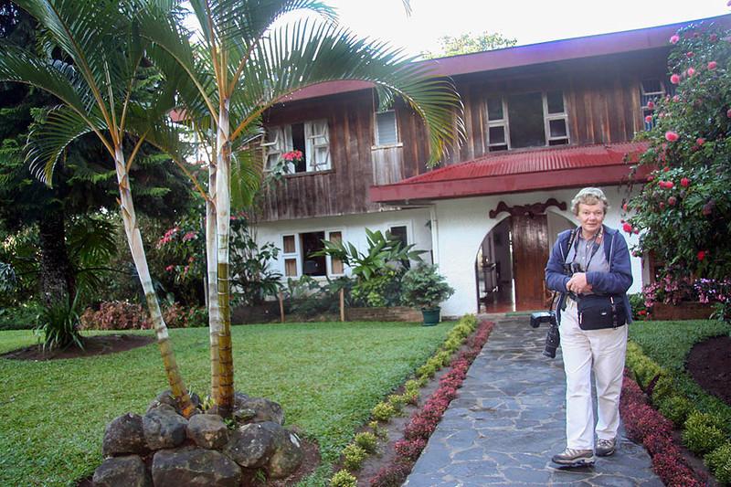 Jenny at Rancho Naturalista