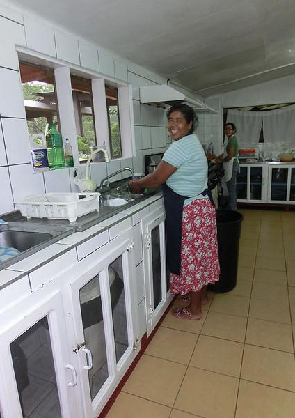 Kitchen staff at Laguna