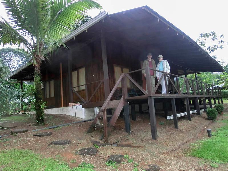 Becky and David at Laguna de Lagarto