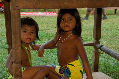 Embera Village, Mogue River