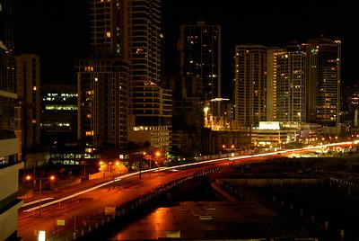 Panama City at night