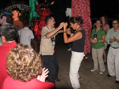 dancing at Costa Flores