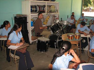 Drew in musica at Pocaora HS
