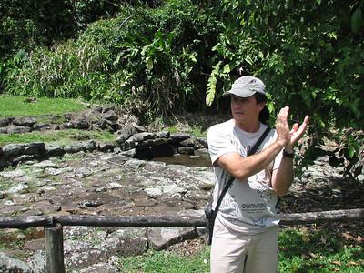 Guide & aquaduct at Guayaro