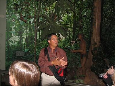 Julio Fernandez at museum