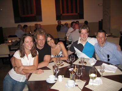 members of my DC family, from the left:  Ran Borgersen, Luciana Zanata, Kevin Ivers, Dane Delassandro