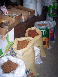 dog food sold at the Central Market