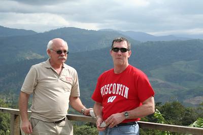 George and Steve at the Sugar plantation