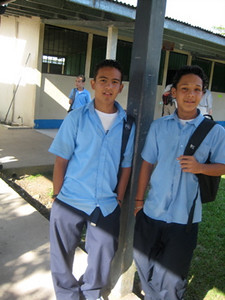 High School visit