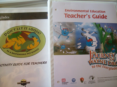Check out the Everglades curriculum products available from the National Parks Service.