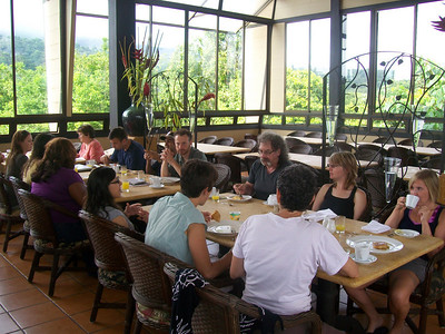 Breakfast at Volcano Arenal