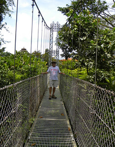 Norm on the suspension bridge.