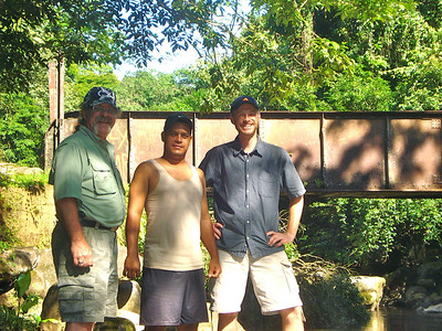Keith and Todd with Tico Suave