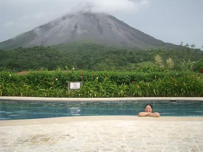 Andrea Taking a Swim (photo by Jennifer)