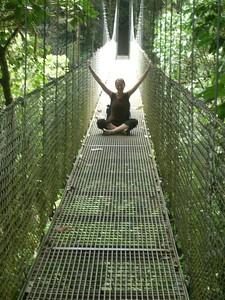 Enlightenment on the Hanging Bridges (photo by Jennifer)