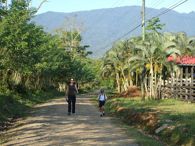 Early morning walk to school - Argentina, Costa Rica