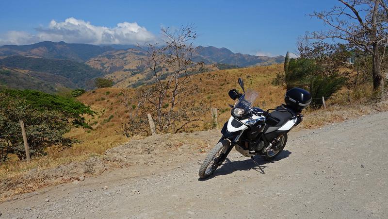 Gaining Altitude near the Monteverde National Forest