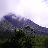 Arenal Volcano. 12th January 2017. As seen from the main viewpoint at the start of the 1968 lava trailhead.