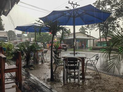 Sudden downpour- Cahuita, Costa Rica