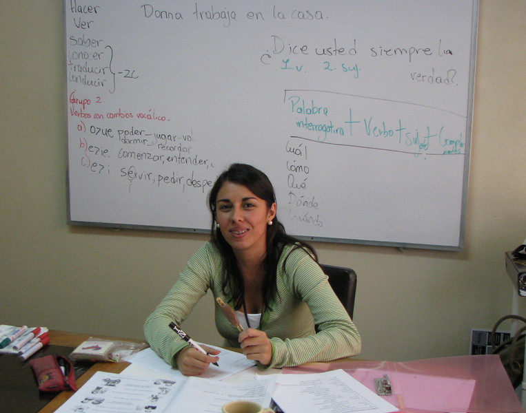 Costa Rica Language Academy - Rebeca, My First Teacher